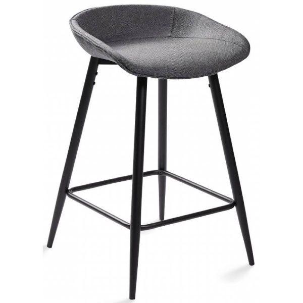 Pusbario kėdė CLEO 45x45x70h pilka