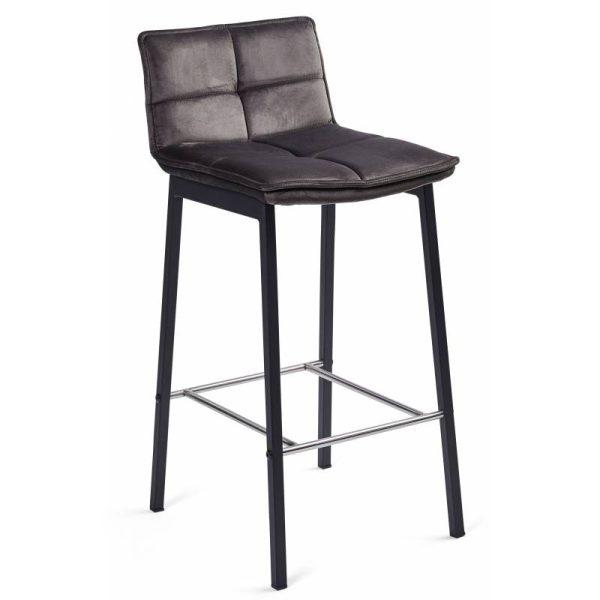 Pusbario kėdė LUNA 40x46x89h tamsiai pilka